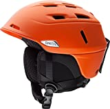 Smith Optics Camber MIPS Adult Ski Snowmobile Helmet - Matte Orange / Large
