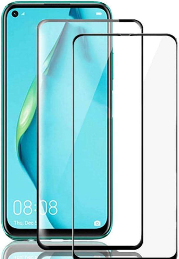 TingYR para Xiaomi Poco M3 Cristal Templado, [Sin Burbujas] [Dureza 9H], Vidrio Templado HD Protector Pantalla para Xiaomi Poco M3.(2 Piezas Negro)