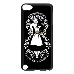 Generic Black Lovely Girl Holding a Strawberry Design Hard Plastic Case for Ipod Touch 5 5g(5th Generation)