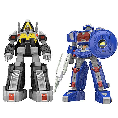Bandai Tamashii Nations Super Mini PLA Astro Megazord & Delta Megazord Set Power Rangers in - Megazord Set