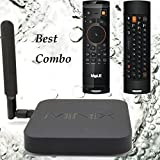 MINIX NEO X8-H Plus X8H Plus Android Smart TV Box / Media Hub / 4K Streaming Media Player / Mini PC Quad A9/Octo Mali + MELE F10 Deluxe Air Fly Mouse Wireless Keyboard Best Combo for your TV from authorized seller Jesurun® Company