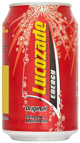 Lucozade Energy Original Drink 330 ml (Pack of 24)