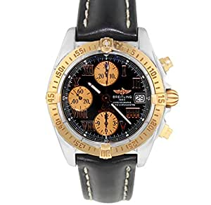 Breitling Galactic automatic-self-wind mens Watch C13358/LEATHERSTRAP (Certified Pre-owned)