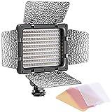 Bestlight W160 LED Photo Studio Barndoor Continuous Lighting Panel Kit Light for Digital Camera