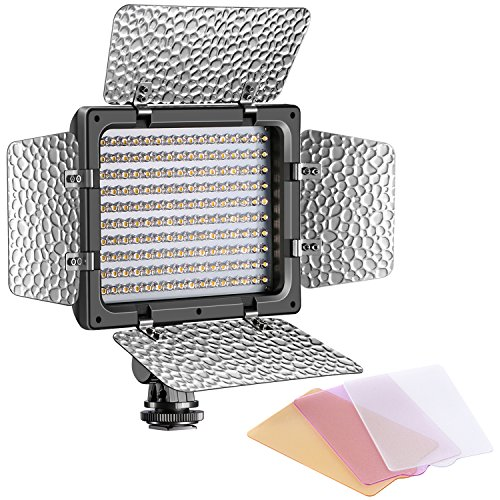 Bestlight W160 LED Photo Studio Barndoor Continuous Lighting Panel Kit Light for Digital Camera by Bestlight