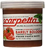Scarpetta Barely Bolognese, 19.8-Ounce Jar (Pack of 4)