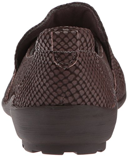 Walking Cradles Mujeres Hanson Loafer Brown Matte Leather
