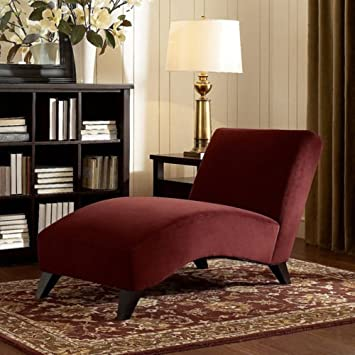 This Lovely Chaise Lounge Chair For Indoors Offers A Sleek Style And Loads  Of Comfort.