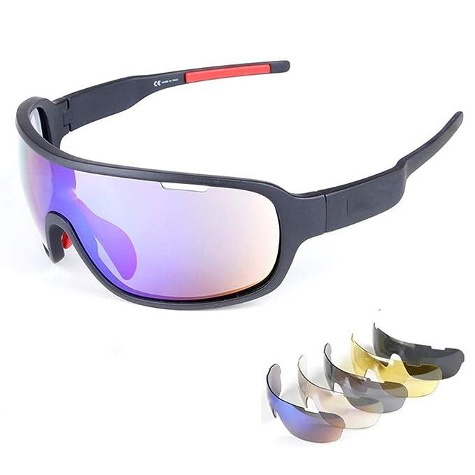Amazon.com: Lorsoul - Gafas de sol deportivas polarizadas ...