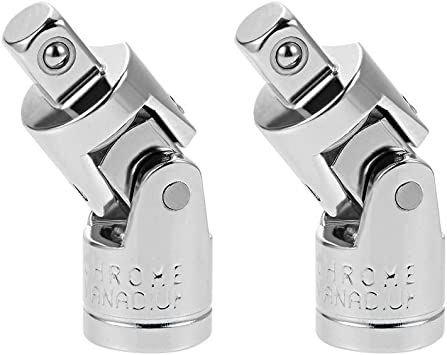 uxcell 1//4 Inch Drive F to 1//4 Inch Drive M Impact Universal Joint
