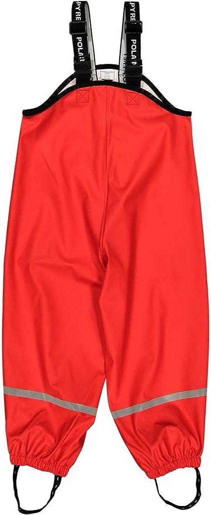 Polarn O. Pyret Waterproof Suspender RAIN Pants (2-6YRS)