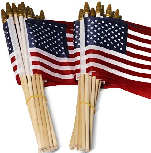 Anley LOT Wooden Stick Flag product image