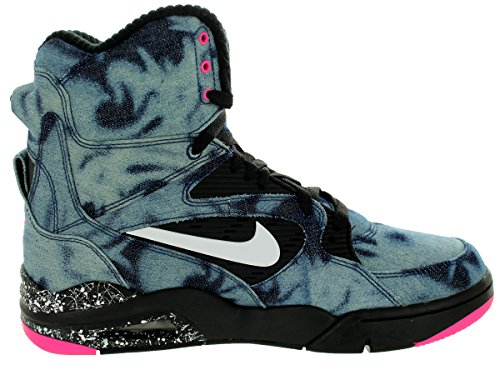 8e3a1e542bfdd NIKE Air Command Force Mens Basketball Shoes 684715-002 Black White ...