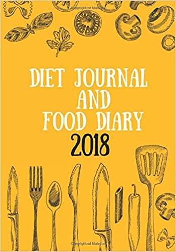 Amazon Com Diet Journal And Food Diary 2018 Food Exercise