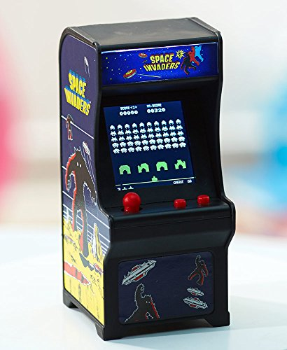 Mini Rampage (Tiny Arcade Space Invaders Miniature Arcade Game)