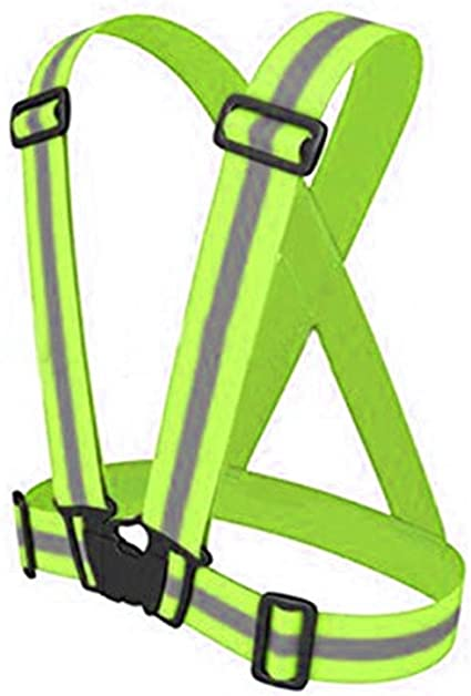 High Visibility Safety Vest Reflective Belt For Night Running Cycling Walking