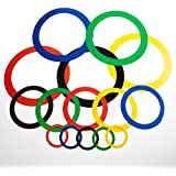 Sports Party Rings, 15 Pieces