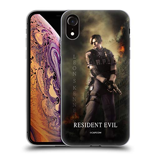 Official Resident Evil Leon S. Kennedy Operation Raccoon City 2 Soft Gel Case for iPhone XR (Resident Evil Operation Raccoon City Best Character)