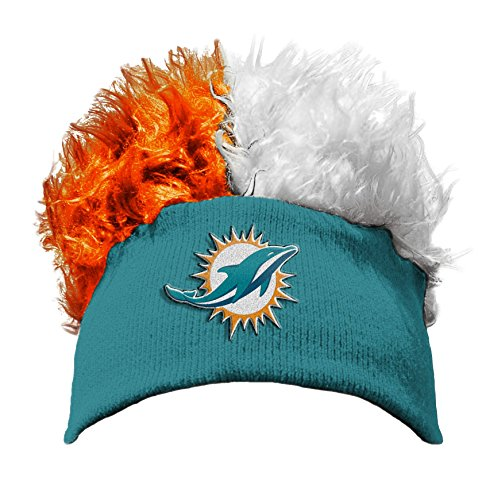 The Northwest Company Officially Licensed NFL Miami Dolphins Flair Hair Beanie Cap