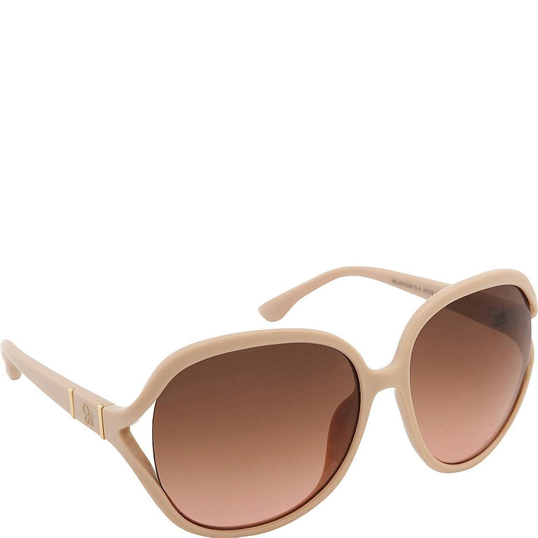 Jessica Simpson Women's J5332 ND Non-Polarized Iridium Oval Sunglasses