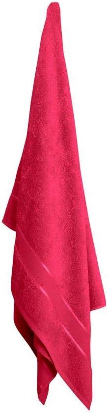 Farbe:Pink Mixibaby Handtuch 10er Set 2X Duschtuch 4X Handtuch 4X G/ästetuch 100/% Baumwolle Frottee