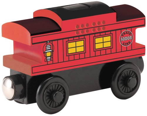 Learning Curve Trains (Thomas & Friends Wooden Railway - Musical Caboose)