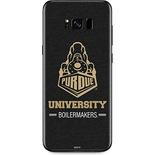 Purdue Boilermakers Vinyl (Purdue University Galaxy S8 Skin - Purdue University Boilermakers Signature Logo Vinyl Decal Skin For Your Galaxy S8)