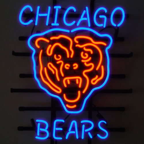 Chicago Bears Neon Lights