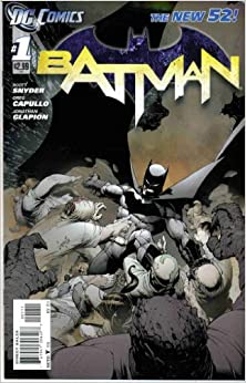 Book BATMAN # 1 (the New 52- 11/11) Storyline: Knife Trick