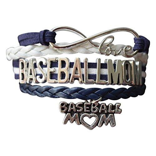 Infinity Collection Baseball Mom Bracelet