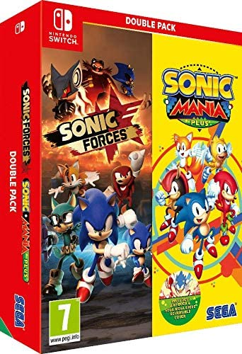 Sonic Mania Plus and Sonic Forces Double Pack (Nintendo Switch) - Importacion inglesa - Multilenguaje (+castellano): Amazon.es: Videojuegos