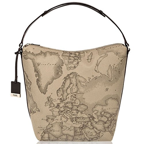 ALVIERO MARTINI PRIMA CLASSE Borsa sottospalla in stampa geo TAUPE  CD0386130  Amazon.it  Scarpe e borse ea03fb82ec9