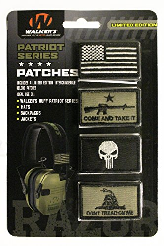 game ear patriot velcro morale