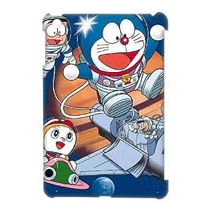 DIY Doraemon iPad Mini 3D Phone Case, Doraemon Customized 3D Hard Back Case for iPad Mini at Lzzcase