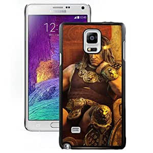 Beautiful And Unique Designed With Prince Warrior Armor Throne For Samsung Galaxy Note 4 N910A N910T N910P N910V N910R4 Phone Case