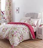 Catherine Lansfield Canterbury Double Duvet Set - Red