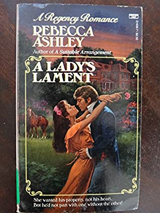 book cover of A Lady\'s Lament