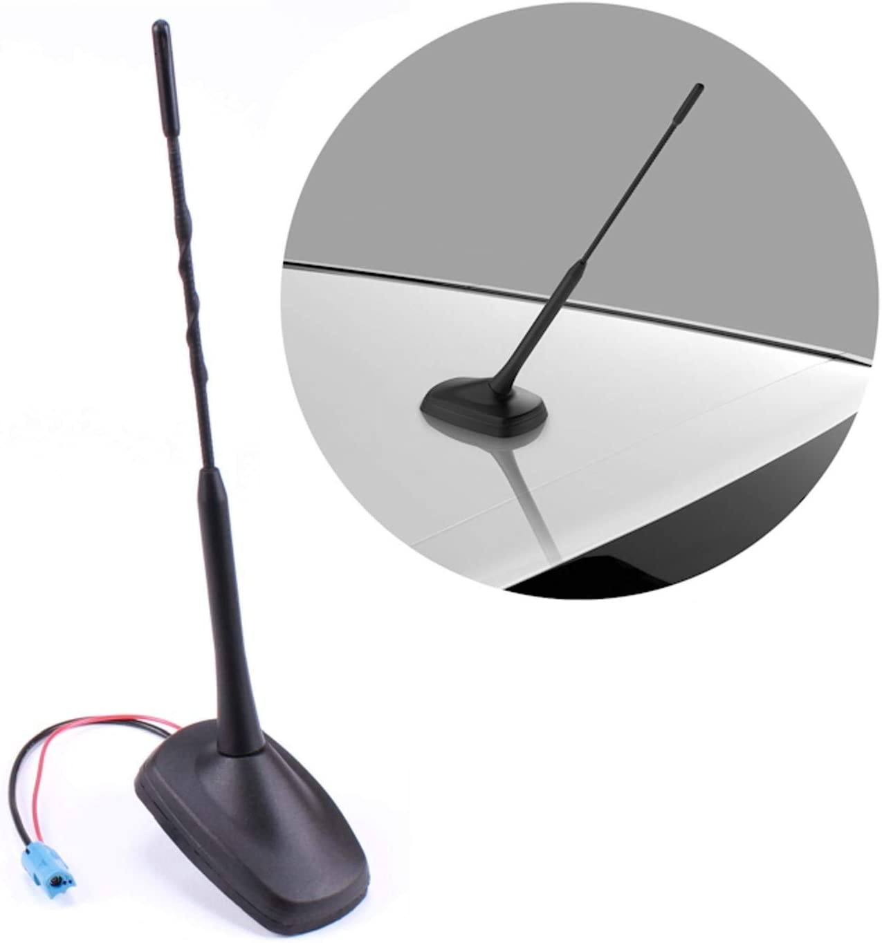 Dachantenne Antenne Stabantenne Antennenfuss Sockel Adapter Radio Auto