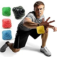 Basketball Pyramid Random Bounce Reaction Ball Sports Fast Speed Agility Coordination Exercise Baseball Training Equipment by Electric Magic