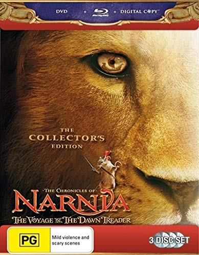 Chronicles Of Narnia Voyage Of Dawn Treader Blu-ray / DVD   NON-USA Format   Region B Import - Australia