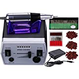 Best Nail Machines - 30,000 RPM Professional Electric Nail Drill File Kit Review