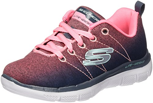 Zapatillas Niñas Skechers 81662l coral Multicolor charcoal q5aEaB