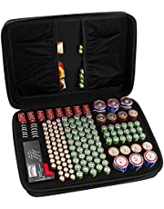 COMECASE Hard Battery Organizer Storage Box Carrying Case Bag