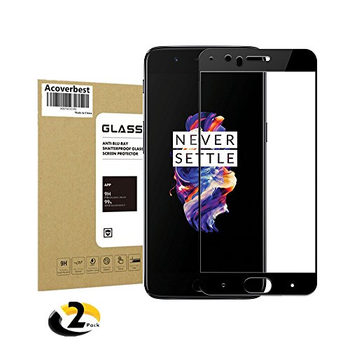 OnePlus 5 Tempered Glass Screen Protector , Acoverbest Screen Protector for OnePlus 5