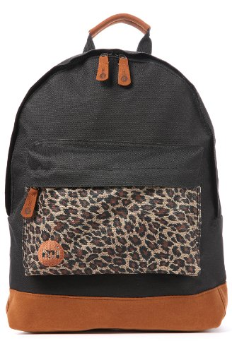 Mi-Pac Men's The Leopard Backpack One Size Black, Bags Central