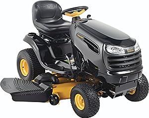 Poulan Pro 960420174 PB24VA54 Kohler V-Twin 24 HP Pedal Control Fast Auto Drive Cutting Deck Riding Mower, 54-Inch from Husqvarna Wheeled