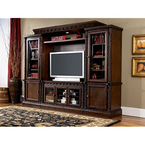 Elegant North Shore Entertainment Wall Unit