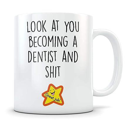 Amazoncom Dentist Graduation Gifts Coffee Mug