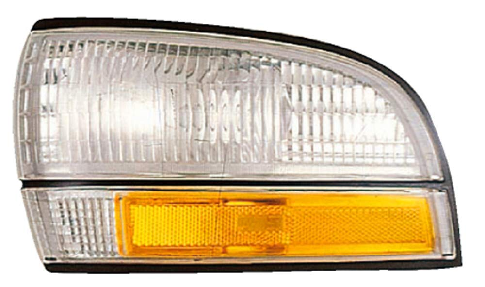 Park Avenue Turn Signal Corner Light lamp Assembly Driver Left Side Replacement GM2550136 For 1992 1993 1994 1995 1996 Buick Lesabre