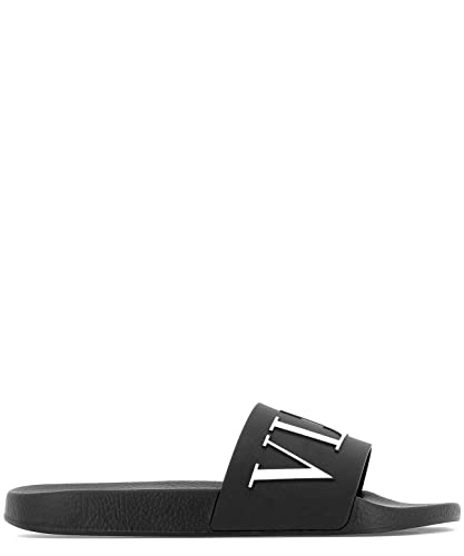 ed1ad5c614f4 VALENTINO Men s RY2S0873SYE0NI Black Rubber Sandals  Amazon.co.uk  Shoes    Bags